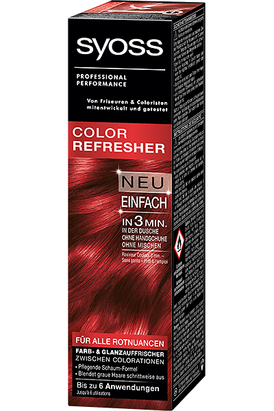 Syoss Color Refresher - Für alle Rotnuancen
