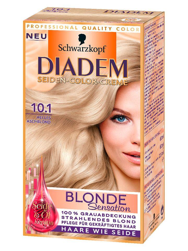 Diadem Seiden-Color-Creme Blonde Sensation 10.1 Helles Aschblond