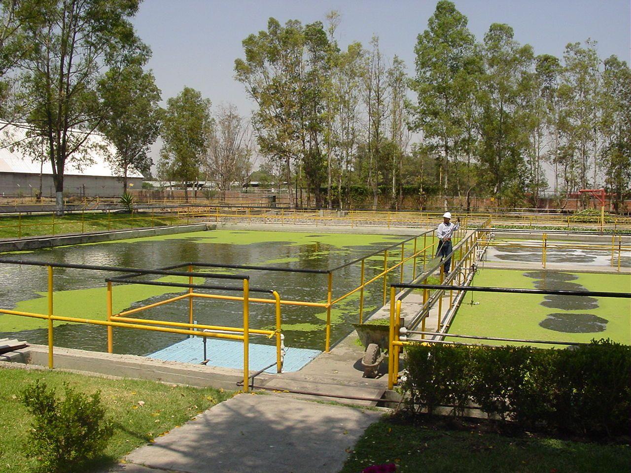 Planta de tratamiento de agua en Mexico