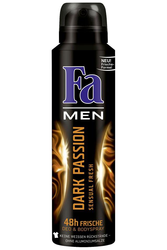 Fa Men Dark Passion Sensual Fresh Deospray
