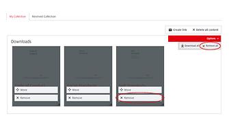 Jos haluat poistaa valitsemasi elementit, klikkaa Poista-painiketta.