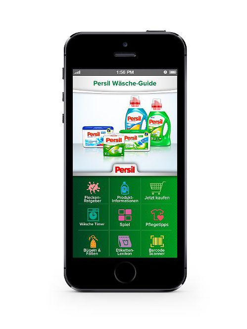 Persil Wäsche-App
