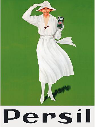 Persil - Weisse Dame - Plakat von 1922
