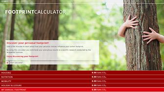 Henkel Footprint calculator