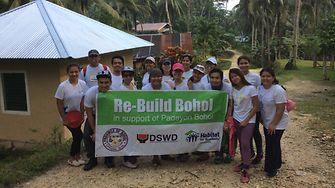 SSC Manila employees had a busy and fulfilling day in Bohol