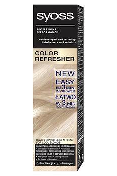 Syoss Color Refresher dla chłodnych odcieni blond