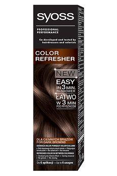 Syoss Color Refresher dla ciemnych brązów