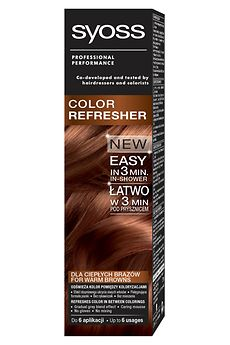 Syoss Color Refresher dla ciepłych brązów