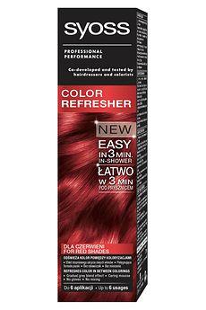 Syoss Color Refresher dla czerwieni