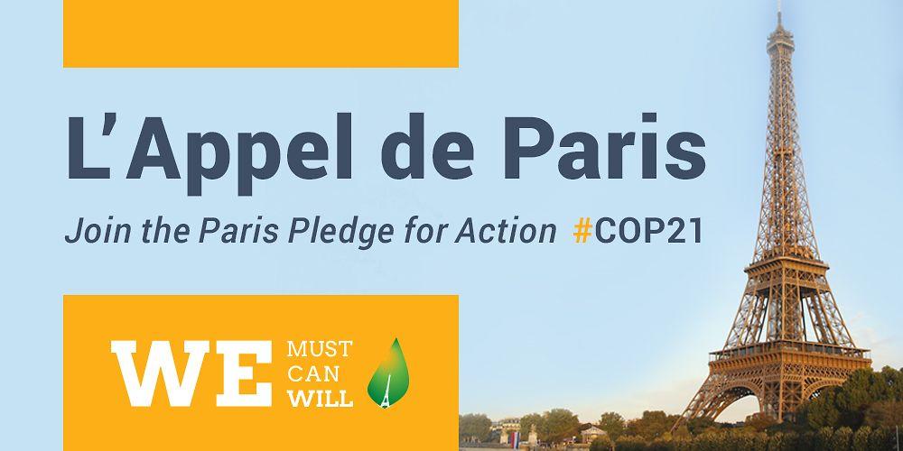 Logo Paris Pledge