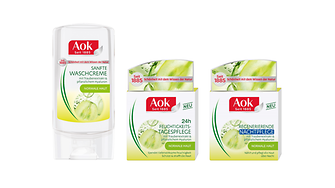 Since 1885 the Aok brand stands for natural beauty