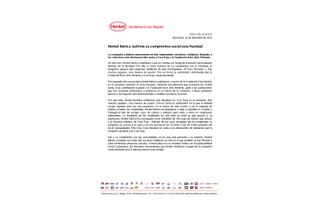 2015-12-22-Henkel Ibérica reafirma su compromiso social esta Navidad.pdf.pdfPreviewImage