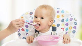 Strahlende Sauberkeit für Hochstuhl und Lätzchen