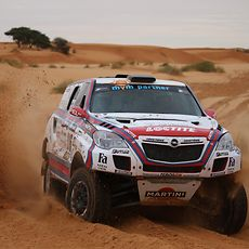 Henkel brands again supported Hungarian racer Balázs Szalay during the Africa Eco Race