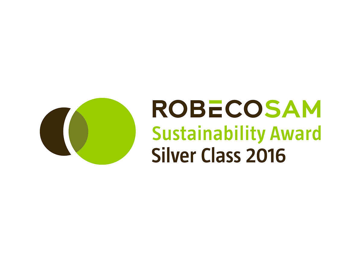Henkel also received RobecoSAM's Silver Class award.