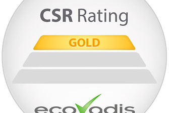 """Henkel was rewarded with the """"Gold Recognition  Level"""" by EcoVadis"""