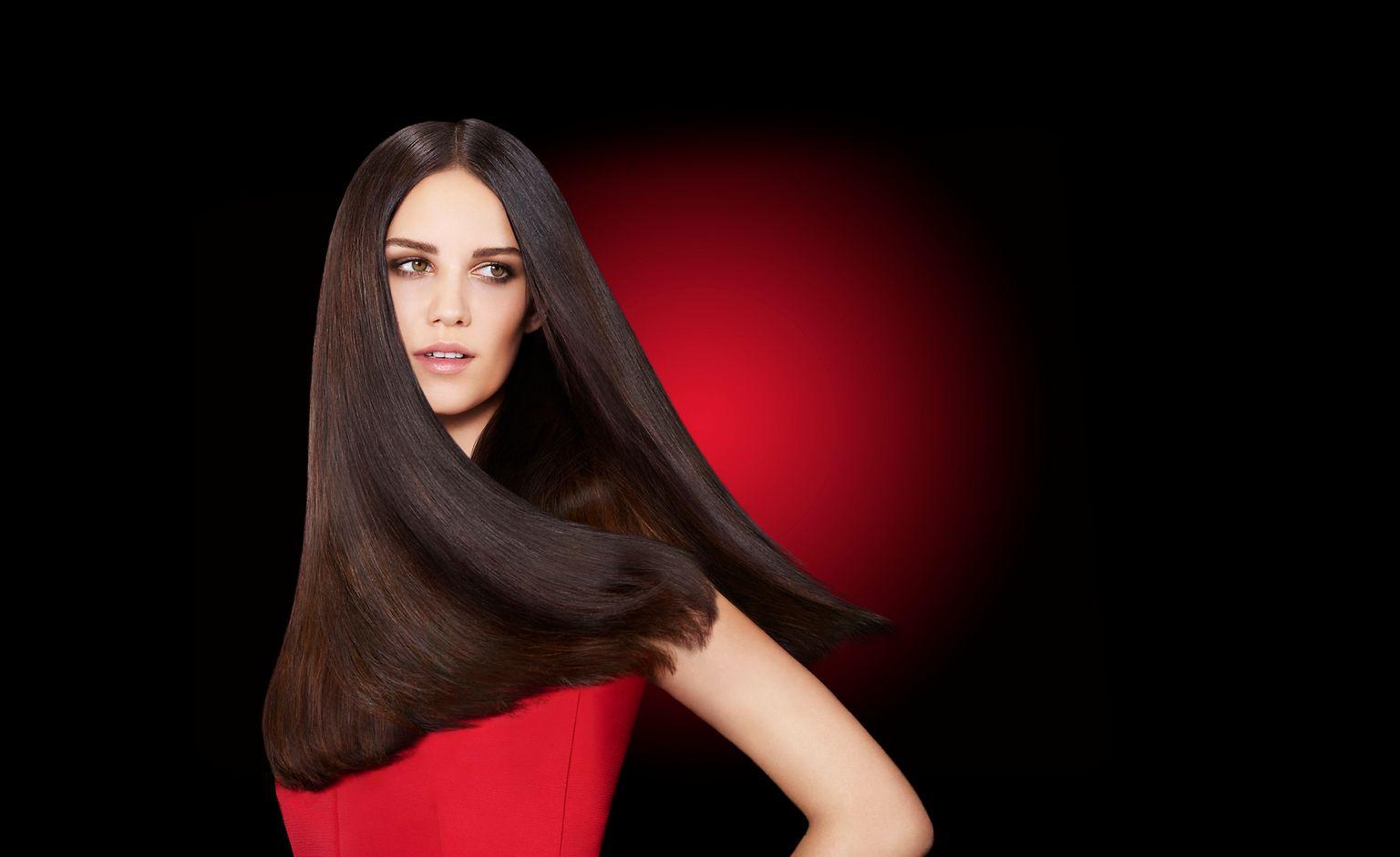 Reverte até 3 anos de danos do cabelo