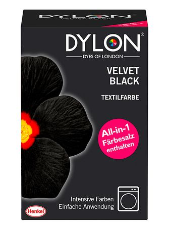 Dylon Velvet Black