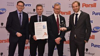 From left to right: Michael Dreja, Ole Kirk, Robert Vergo, Mikael Bechsgaard.