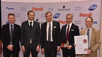 From left to right: Ole Kirk, Mikael Bechsgaard, Per Falholt, Robert Vergo, Andrew Fordyce.