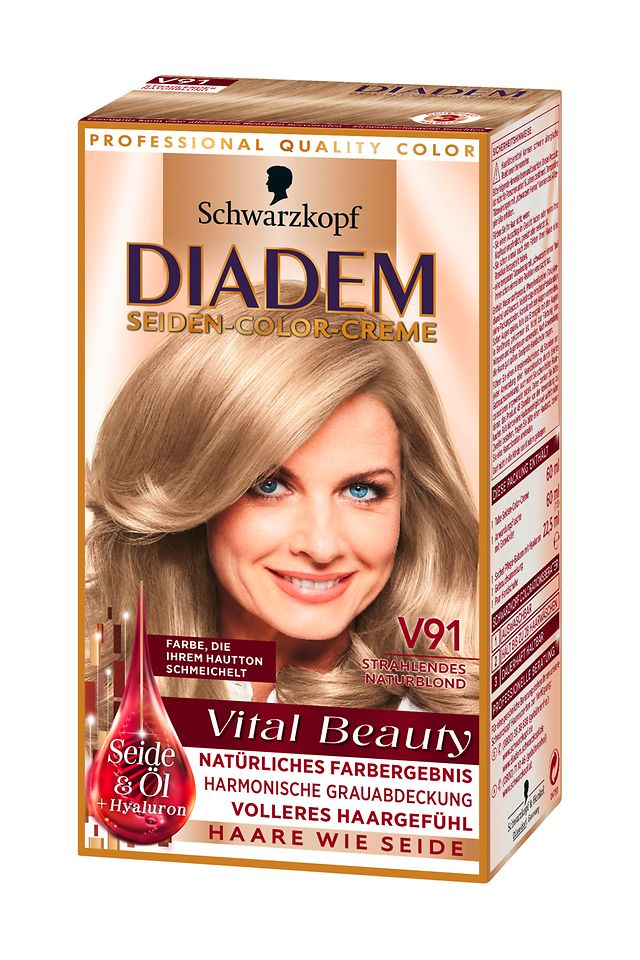 Diadem Vital Beauty Strahlendes Naturblond (V91)