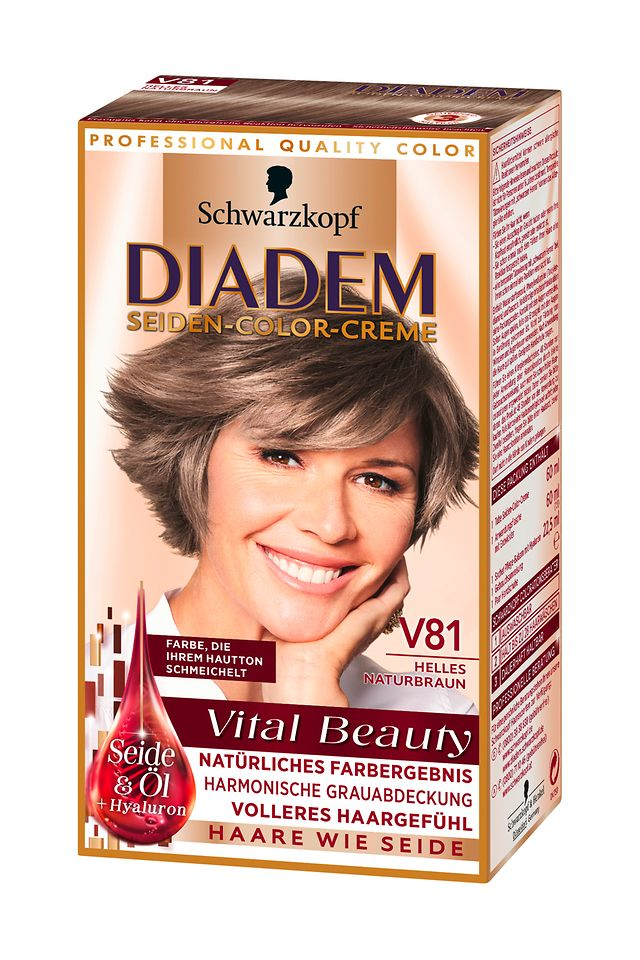 Diadem Vital Beauty Helles Naturbraun (V81)