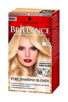Brillance Pure Diamond Blonds Pures Blond 9 Stufen Aufhellung (L13)