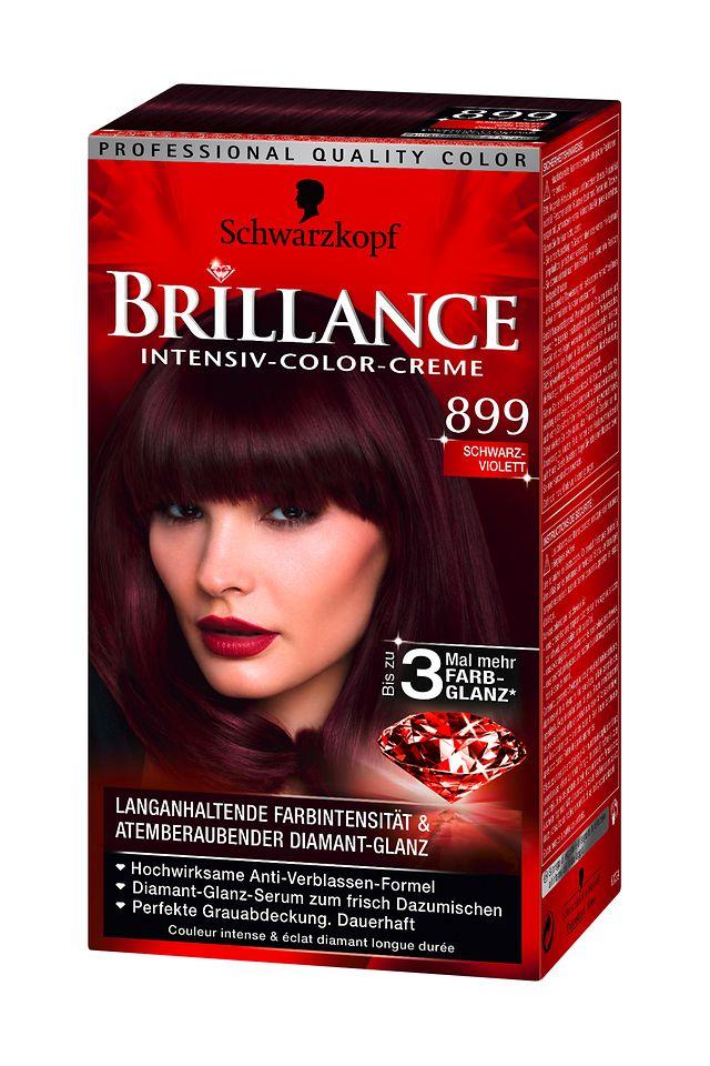 Brillance Schwarz-Violett (899)