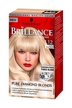 Brillance Pure Diamond Blonds Ultra Platinum 9 Stufen Aufhellung (L12)