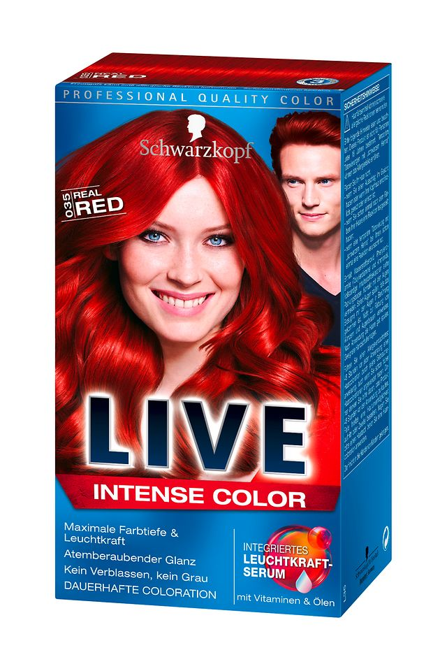 Schwarzkopf Live Intense Color Real Red (L35)