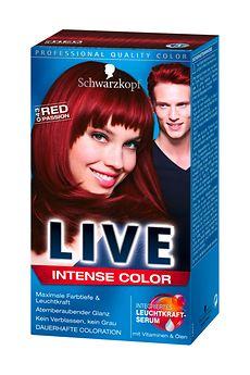 Schwarzkopf Live Intense Color Red Passion (Lr43)