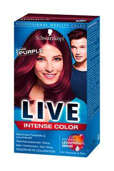 Schwarzkopf Live Intense Color Pure Purple (L86)