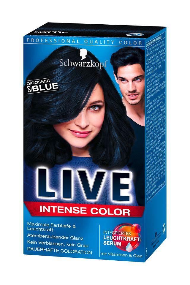 Schwarzkopf Live Intense Color Cosmic Blue (L90)