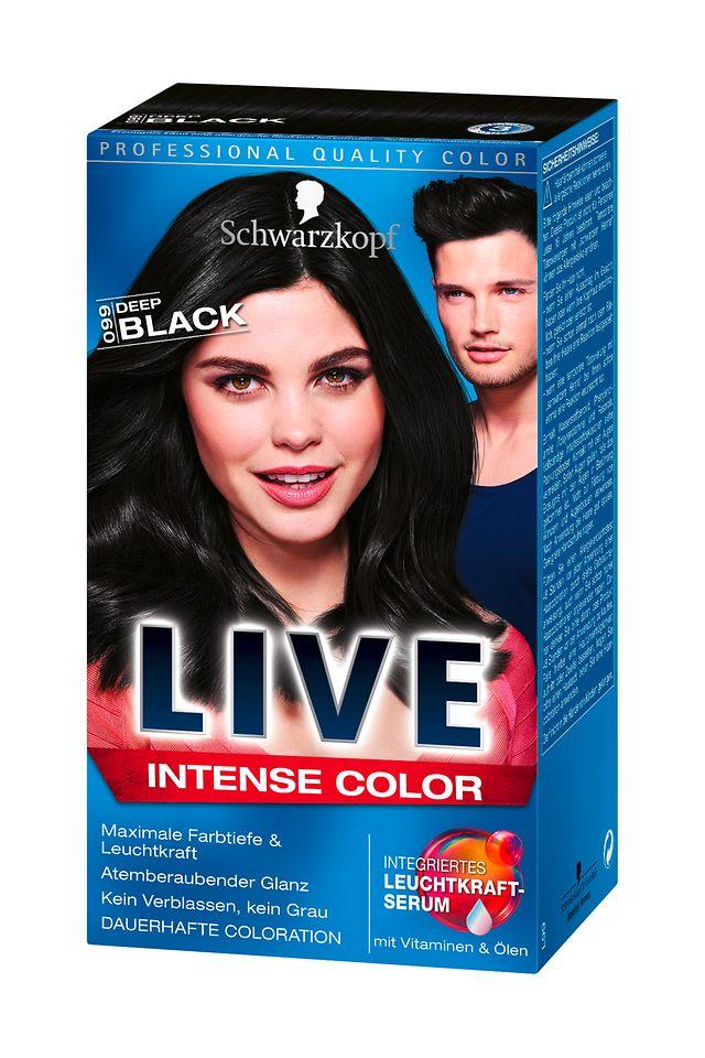 Schwarzkopf Live Intense Color Deep Black (L99)