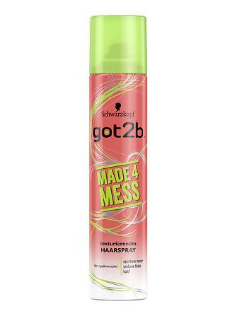 got2b Made4mess texturierendes Haarspray