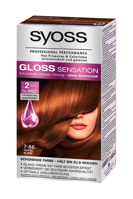 Syoss haarfarbe gloss sensation - Beliebte Frisuren 2020