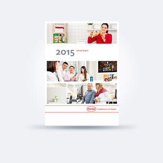 Финансовый отчет за 2015 год (обложка)