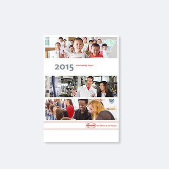 Отчет по устойчивому развитию 2015 (обложка)