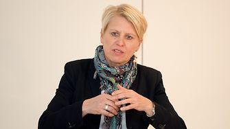 Doris Fitschen, Teammanagerin der DFB Frauen-Nationalmannschaft