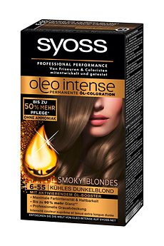 Syoss Oleo Intense Smoky Blondes (6-55) Kühles Dunkelblond