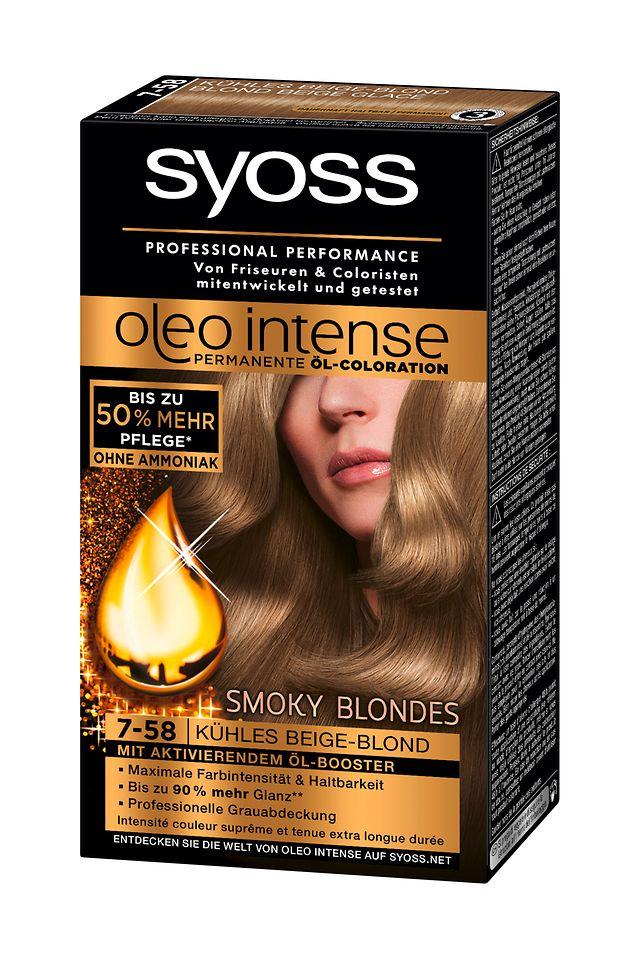 Syoss Oleo Intense Smoky Blondes (7-58) Kühles Beige-Blond