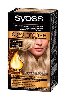 Syoss Oleo Intense Smoky Blondes (10-50) Helles Asch-Blond