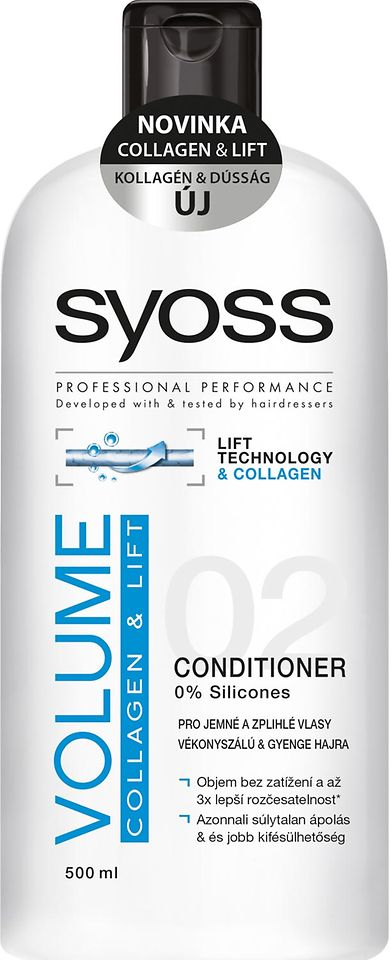 SYOSS VOLUME COLLAGEN & LIFT kondicionér