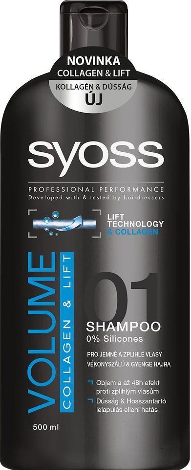 SYOSS VOLUME COLLAGEN & LIFT šampón 500 ml