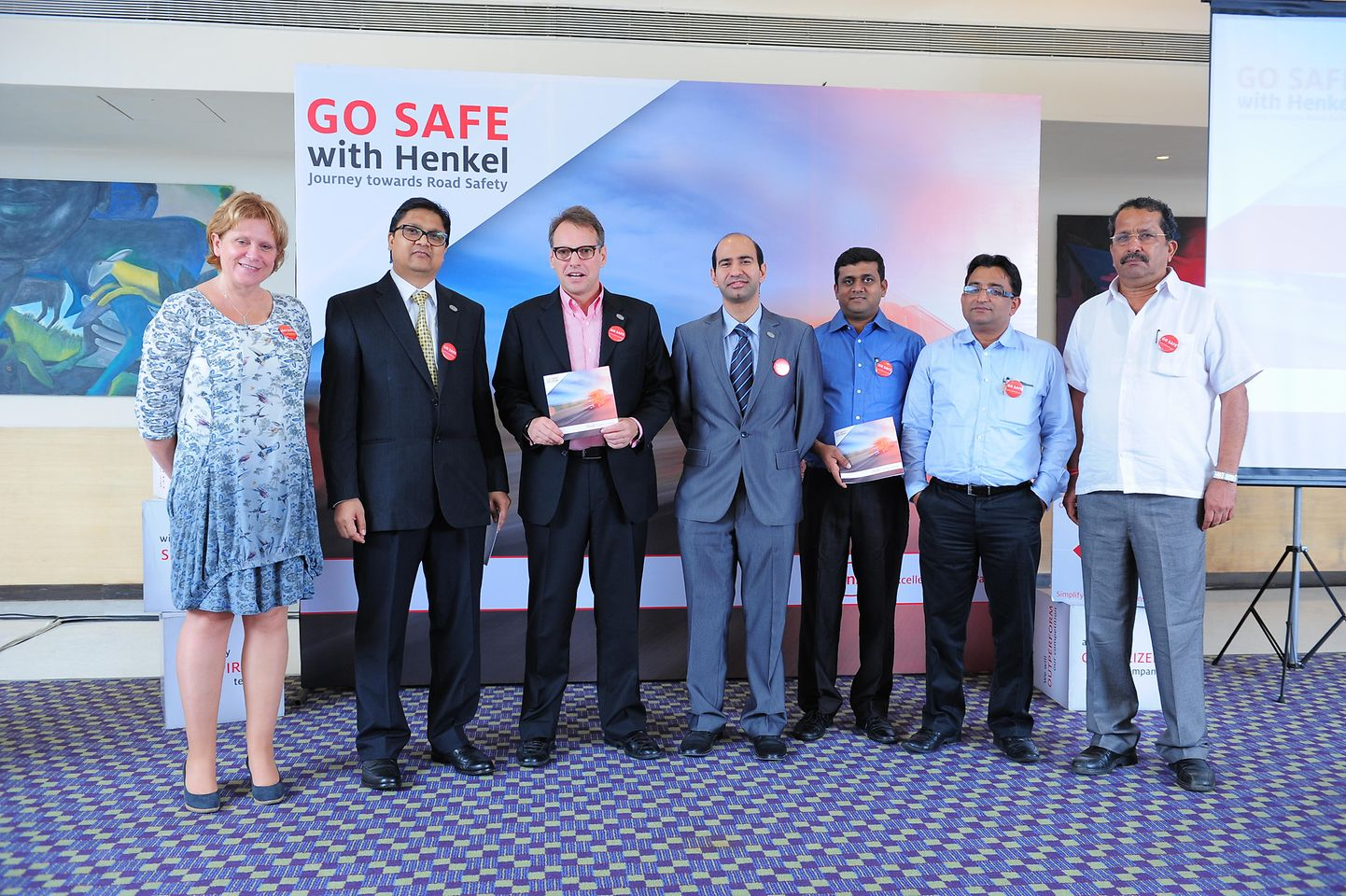 Go Safe with Henkel campaign