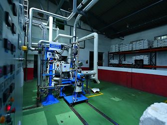 Production of water-based adhesives at Thane site, India