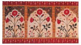Indisches Baumwolltuch aus dem 18. Jahrhundert