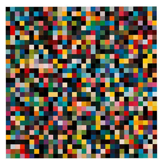 Arbeit von Gerhard Richter