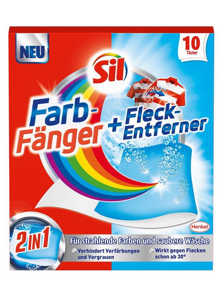 Sil Farb-Fänger & Fleck-Entferner