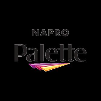 Napro Palette logo